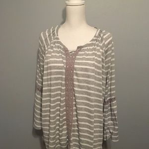 3X French Laundry Blouse